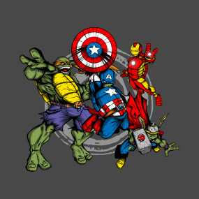 The Turtle Avengers!