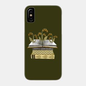 c7ae5b9e2 floral books I Phone Case. by annyamarttinen
