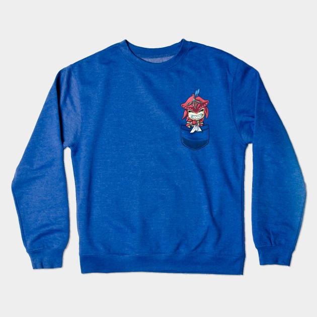 3888d5fb9327 Pocket Baby Sidon Breath of the Wild Champion tshirt Crewneck Sweatshirt