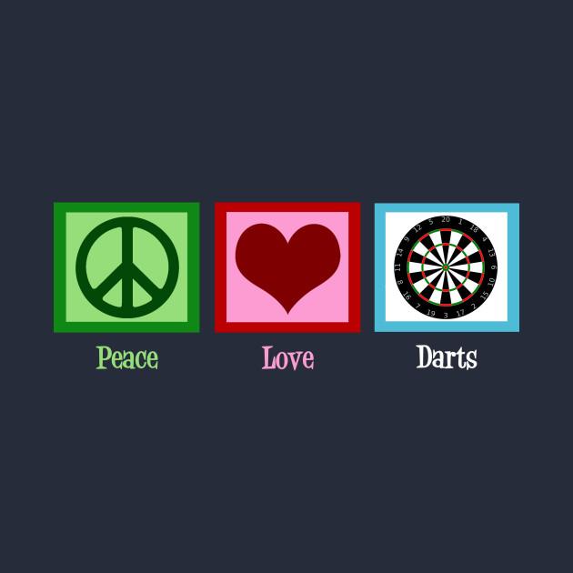 Peace Love Darts