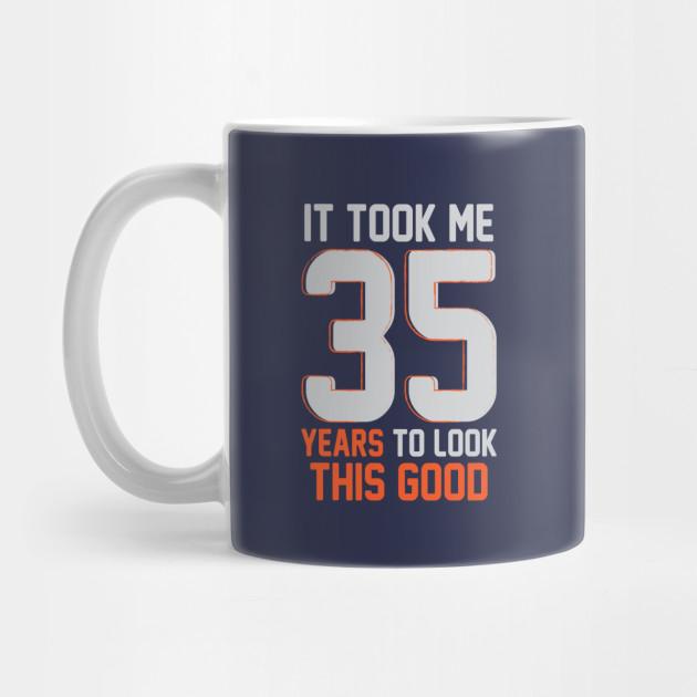 Funny 35th Birthday Pun Design Gift Ideas by cartba