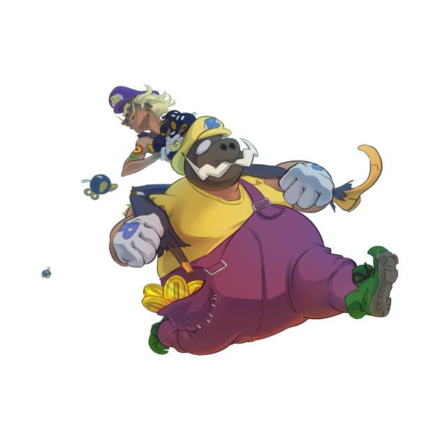 The Junkboys Take the Mushroom Kingdom