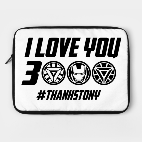 I Love You 3000 Meaning Laptop Cases | TeePublic