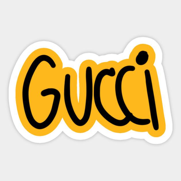 Not Gucci - Gucci - Sticker | TeePublic
