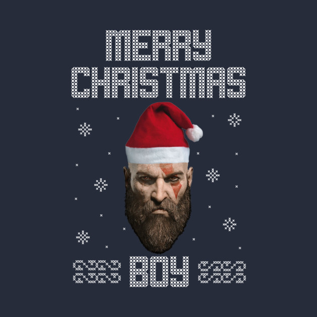 Image result for kratos christmas