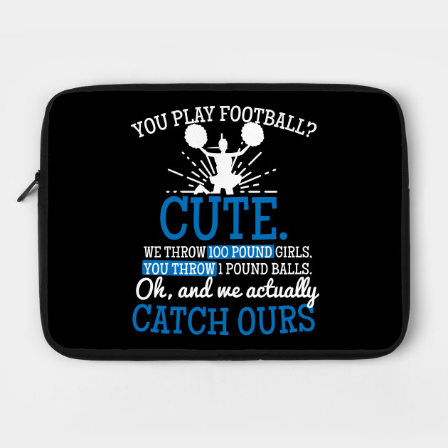 Mom Cheerleading Shirt You Play Football Cute Gift By Gawkclothing