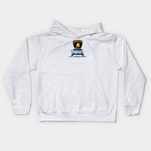 Lamborghini Kids Zip-up Hoodie White Other Unisex Clothing