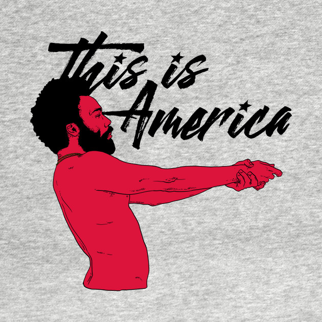 This Is America White Music T Shirt Teepublic
