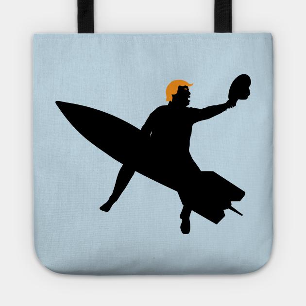 Trump Rides The Bomb