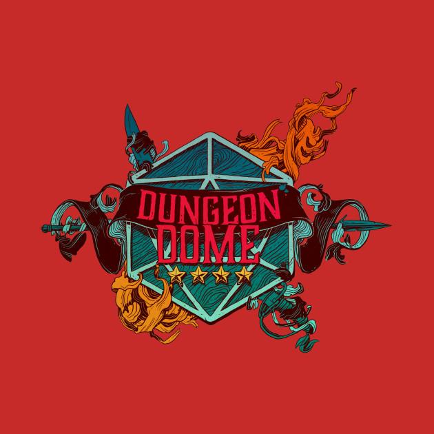 Dungeon Dome Kirkby Logo Dark