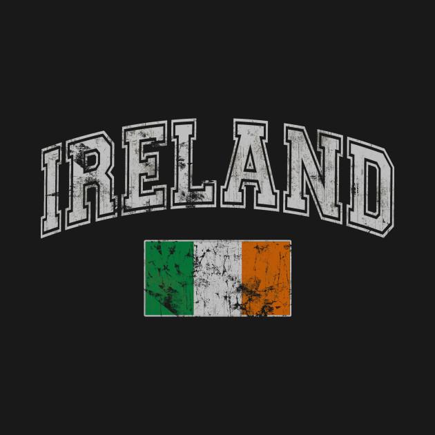 Retro Flag of Ireland Irish