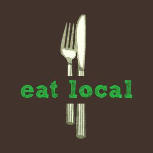 Eat Local Food t-shirts