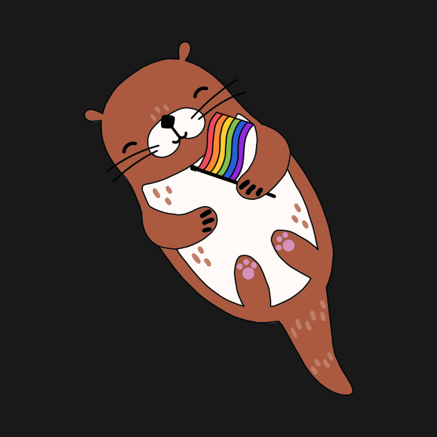 LGBT Gay Pride Otter