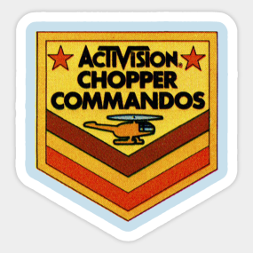 Chopper Commandos Sticker