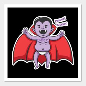 Halloween Vampire Posters And Art Prints Teepublic