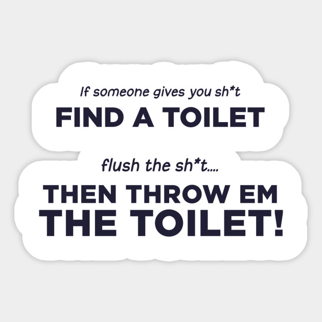 the toilet story