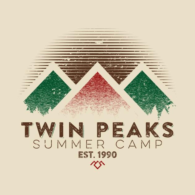 Twin Peaks Summer Camp (Light) T-Shirt