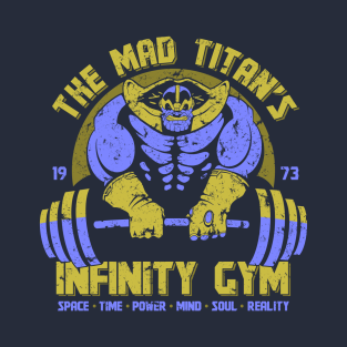 Infinity Gym t-shirts