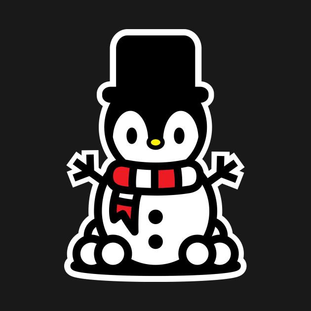 Penguin Snowman Christmas Bambu Brand Holiday