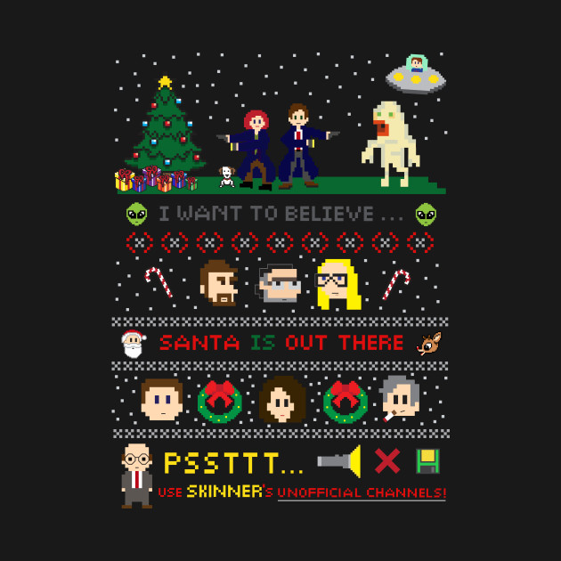 The X-Files Christmas - Santa is Out There