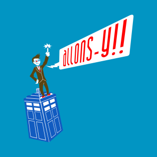 ALLONS-Y!! t-shirts