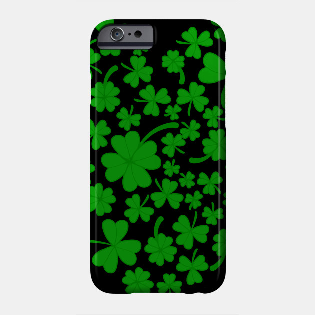 Irish Heart Shamrock Ireland Lover St Patrick's Day Phone Case