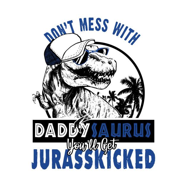 Daddysaurus Shirt Rex New Dad Gift Dinosaur