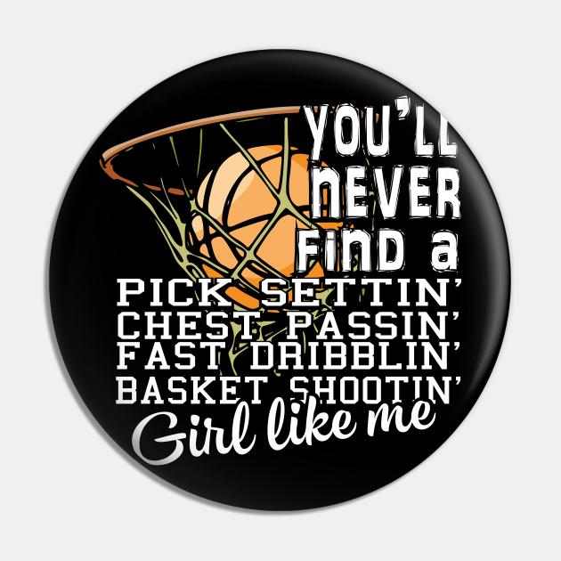 Basketball Shooting T Shirt, Girl Like Me