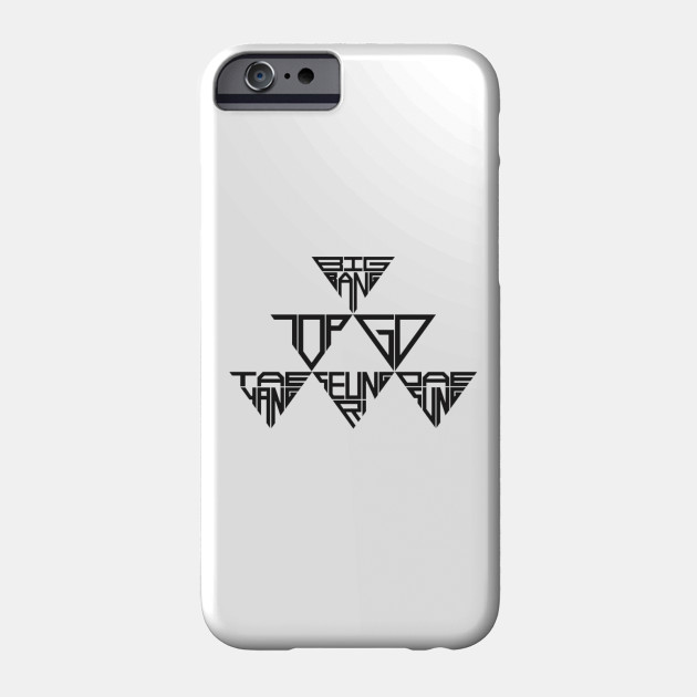 Big Bang Icon Bigbang Kpop Phone Case Teepublic