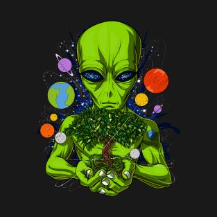 01027b9da Space Alien T-Shirts | TeePublic