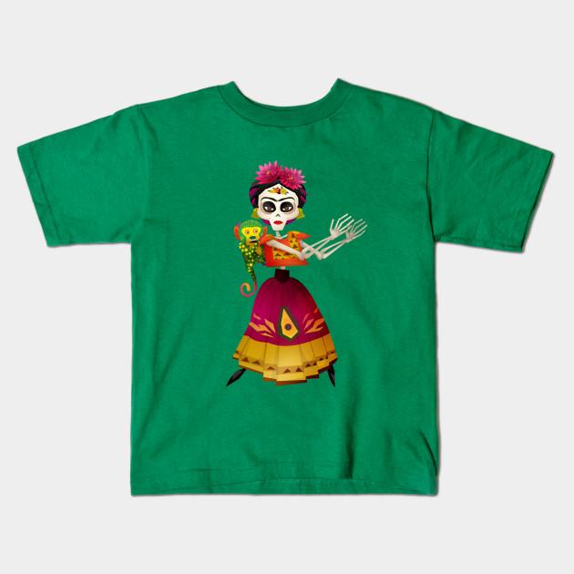 3ffc2575 Frida Kahlo - Coco - Kids T-Shirt | TeePublic