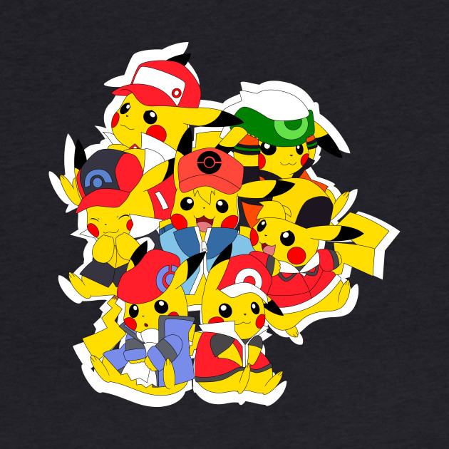 Pikachu Trainers (Male)