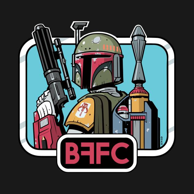 """Boba Fett Fan Club 21 Years (""""Jedi"""")"""