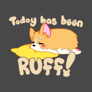 Corgi Ruff Shirt t-shirts