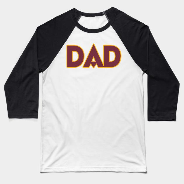 DC DAD! - Washington Redskins - Baseball T-Shirt  49c2375d4