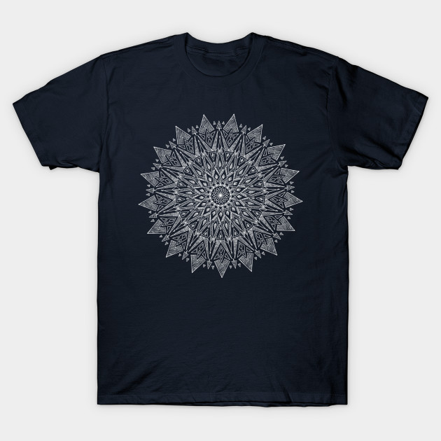 5dba457eb Symmetrical Sun Motif - Design - T-Shirt | TeePublic