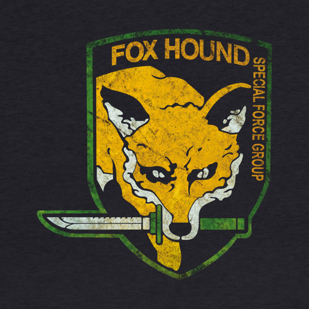 FOXHOUND (Distressed) - Metal Gear Solid