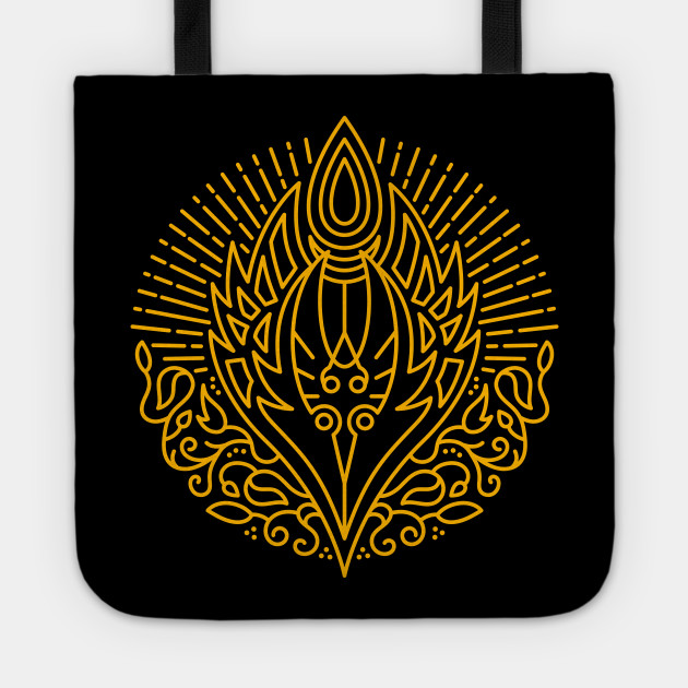 Elf Of Blood Race Crest Color Warcraft Tote Teepublic
