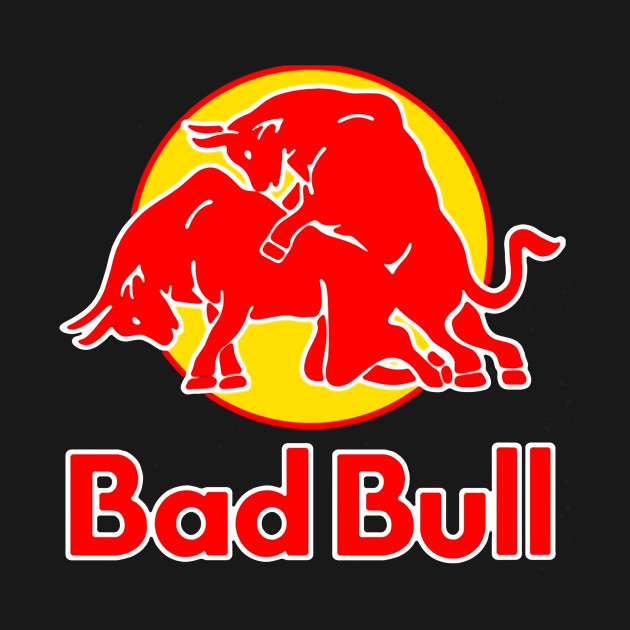 Bad Bull Funny Red Bull Logo Sex Graphic Parody