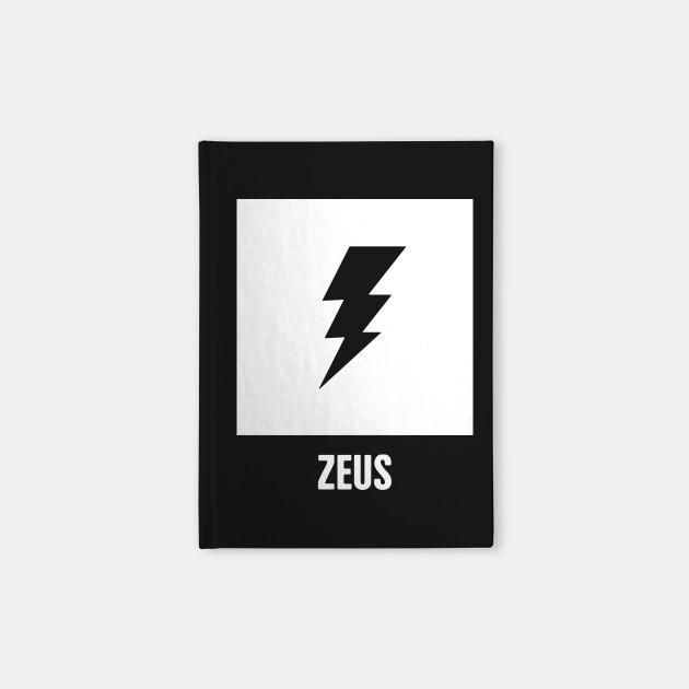 Zeus Greek Mythology God Symbol Greek Mythology Notebook