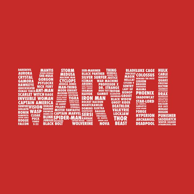 Marvel Names