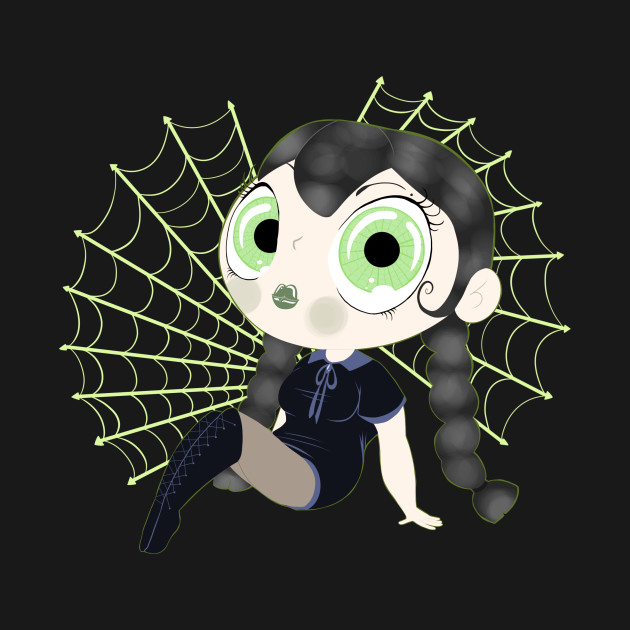Goth with Webs