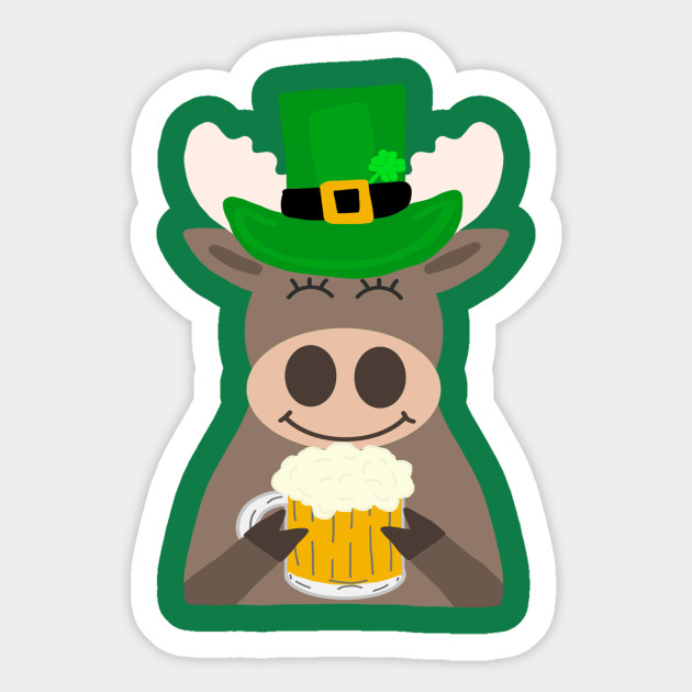 Image result for st patrick's day moose