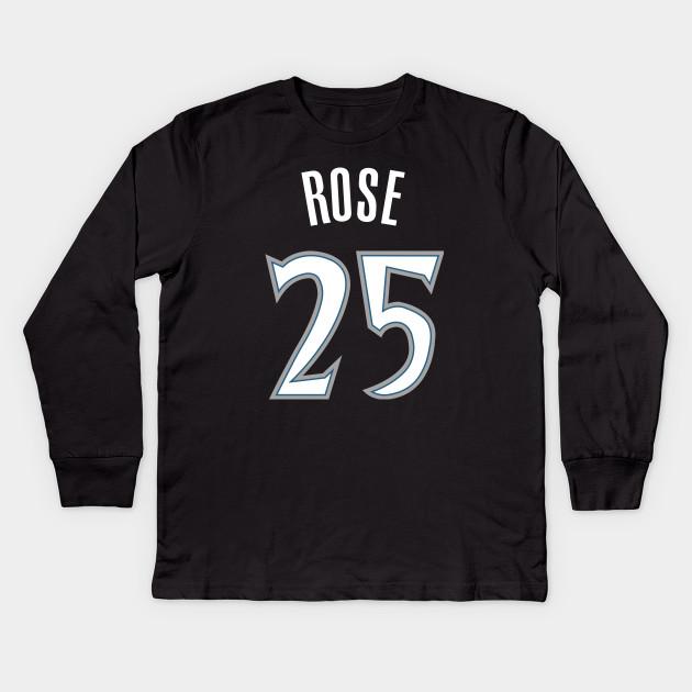 pretty nice 1427f 74b2e Derrick Rose Timberwolves Jersey