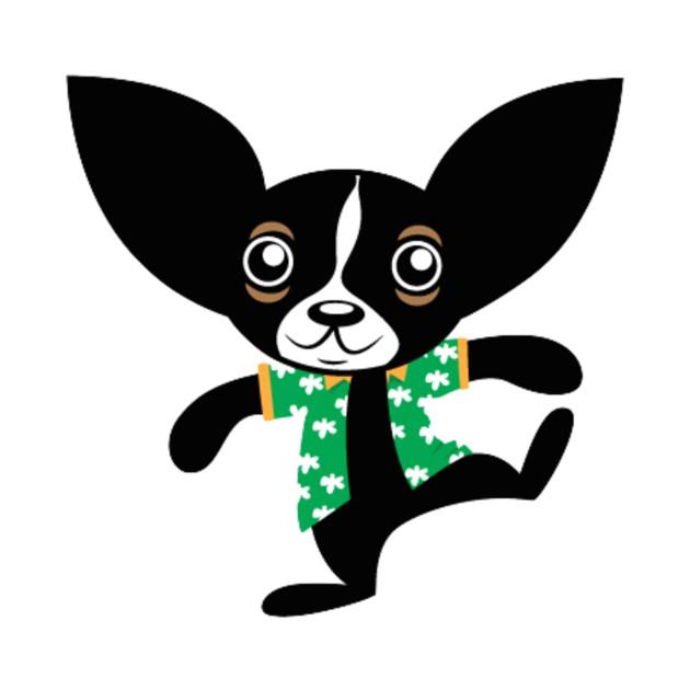 Chihuahua Hola Rico dancing smooth hair