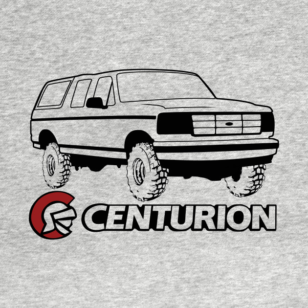 Ford Bronco Centurion w/tires, Black Print