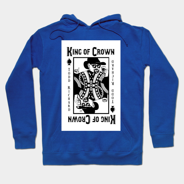 KING OF CROWN -Cool Playing Card Design - Playing Card - Hoodie ... 237a211bd