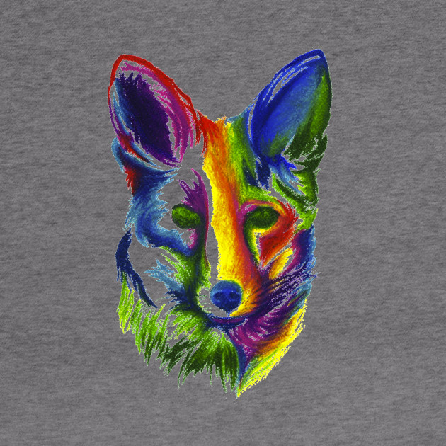 Multicolored Fox