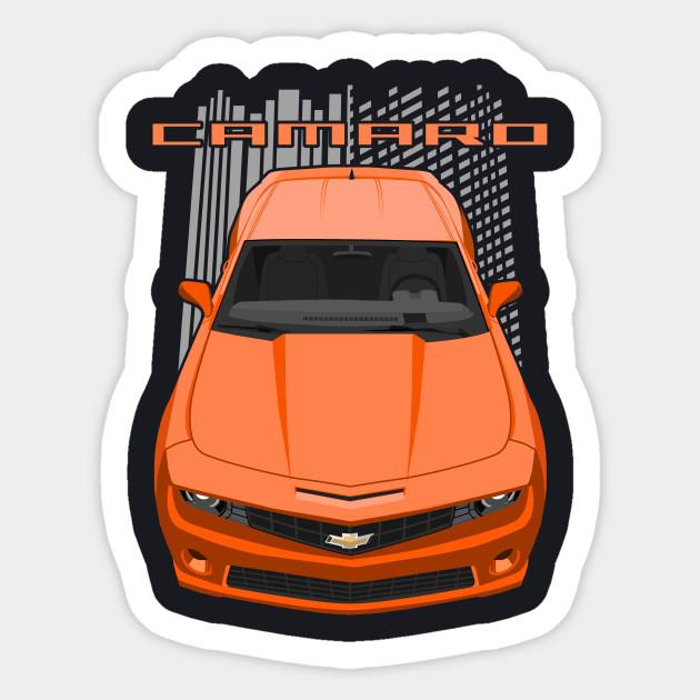 Camaro SS 5th gen - orange