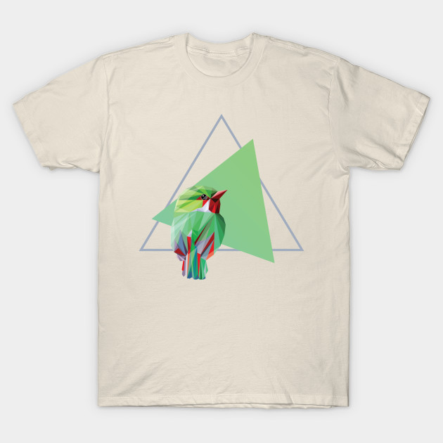 Colorful Abstract Geometric Bird Illustration - Colorful Bird - T ... 22a672abf
